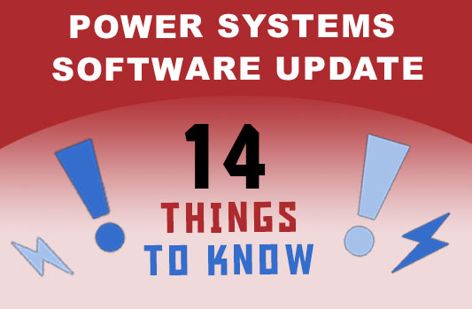 Power Systems Software Update – 14 Things to Know