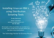 Installing Linux on IBM System z using Distribution Scripting Tools Featured Image
